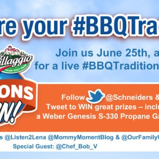 Join Schneiders for the #BBQTraditions Twitter Party!