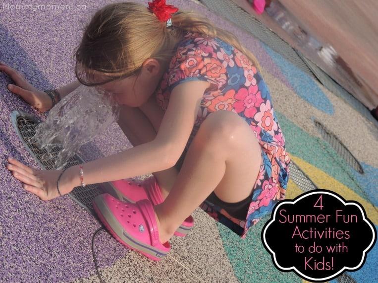 4 summer fun activities