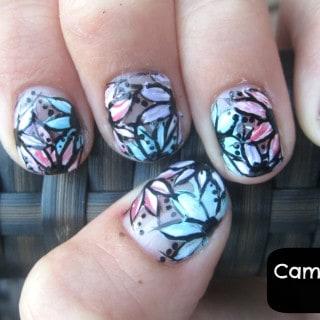 Perfect Nail Design for Shorter Nails