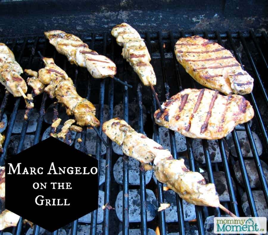 MarcAngelo on the grill