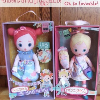 Sing Around the Rosie with Mooshka Dolls #Giveaway