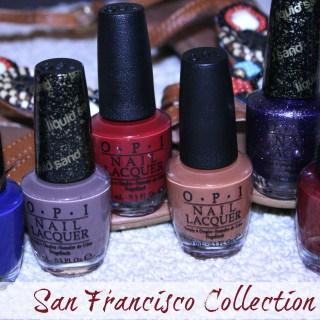 OPI's San Francisco Collection