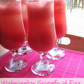 Watermelon Grapefruit Fizz ~ A Minute Maid Summer Recipe #Giveaway {CAN}