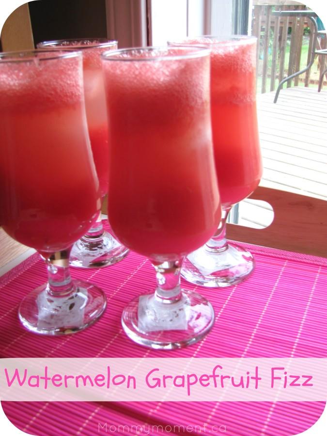 Watermelon Grapefruit Fizz