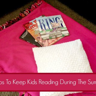 5 tips to keep kids reading during summer holidays