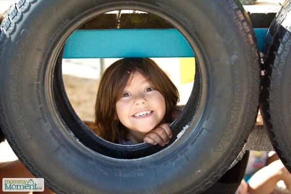 1st Day of School Playground