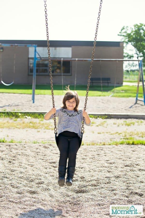 1st day of school swing