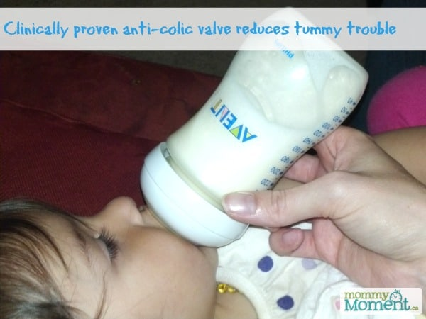Avent reduces tummy trouble