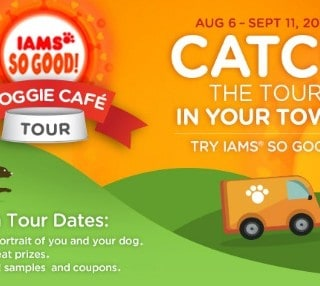 The Iams SO GOOD! Doggie Café is Coming to a City Near You! #Giveaway {CAN}