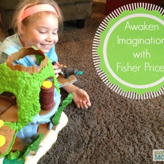 Awaken imaginative Play with Fisher Price! #FisherPriceMoms