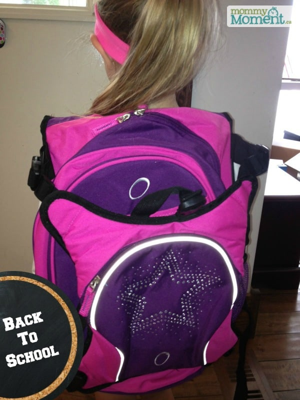 School backpack from overstock