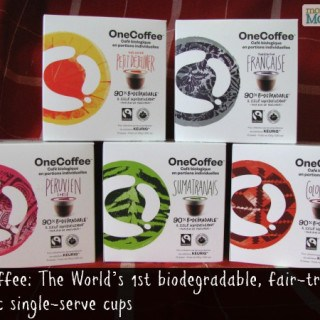 "Enjoy OneCoffee Single Serve Cups for Your ""Me Time"" #giveaway {CAN}"