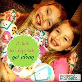 5 tips to help kids get along {Peaceable Kingdom #Giveaway}