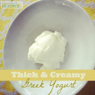 EASY DIY GREEK YOGURT