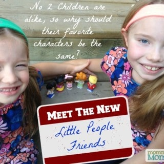 Meet the NEW Little People Friends! #FisherPriceMoms
