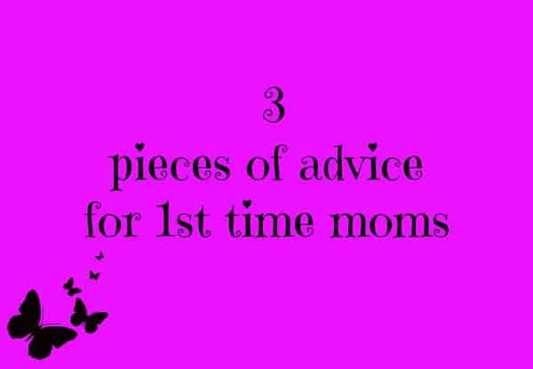 3 pieces of advice