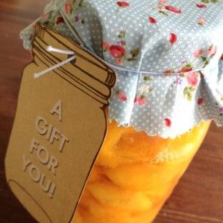 Cinnamon Peach Jam Recipe