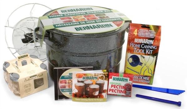 Bernardin Starter Canning Kit giveaways ending