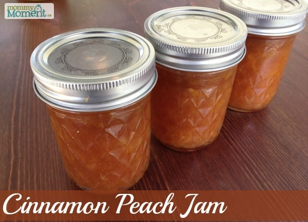 Cinnamon Peach Jam Recipe