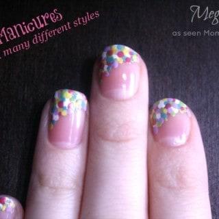 French Manicures ~ Meg's Nails