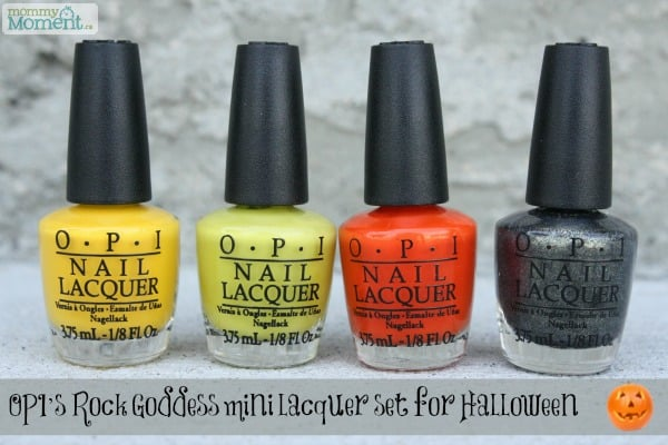 Buy Opi goddess rock halloween nail polish collection picture trends
