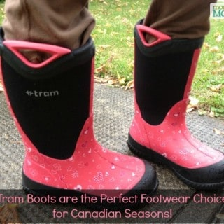 Tram Boots are the Perfect Footwear Choice for Canadian Seasons! #Giveaway {CAN}