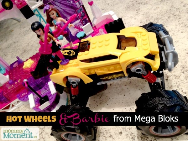 hot wheels barbie mega bloks