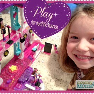 Passing down play traditions {Hot Wheels & Barbie Mega Bloks #Giveaway}