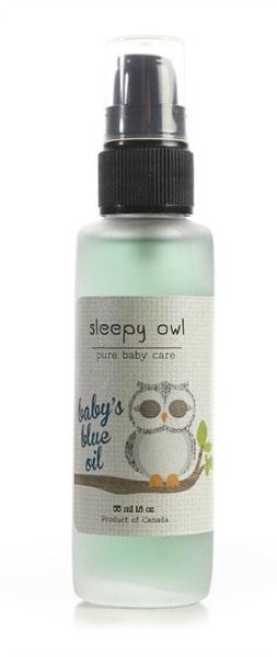 Babys Blue Oil