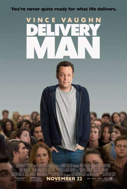 Win a Pass for 2 to see Vince Vaughn in Delivery Man! #Winnipeg {2 Winners}