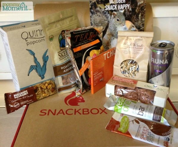 Our October Snackbox is Here! #Giveaway