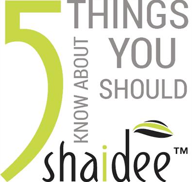 Shaidee 5 Things