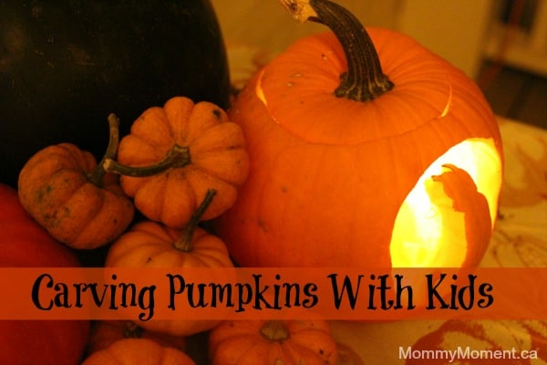 Carving Pumpkins With Kids