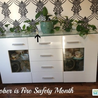 October is Fire Prevention Month {#Giveaway}