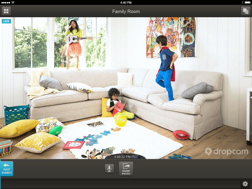 Dropcam lets you watch your home when you're not home
