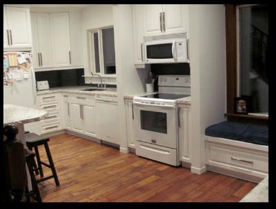 I love my dream kitchen renovation! #FinishYourKitchen