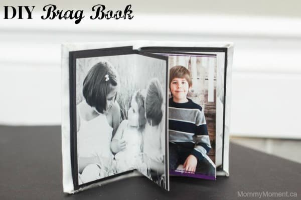 DIY Brag Book ~ A Great DIY Christmas Gift!