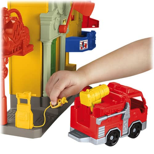 Imaginext City rescue center gas pump