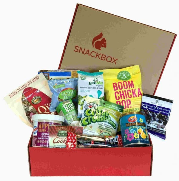 Enjoy the NEW Snackbox Delivered to Your Door! #31DaysOfGifts