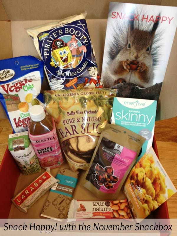 What's in our November Snackbox?
