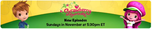 Strawberry Shortcake Encourages Your Little Ones to Eat Healthy! November News from Disney Junior
