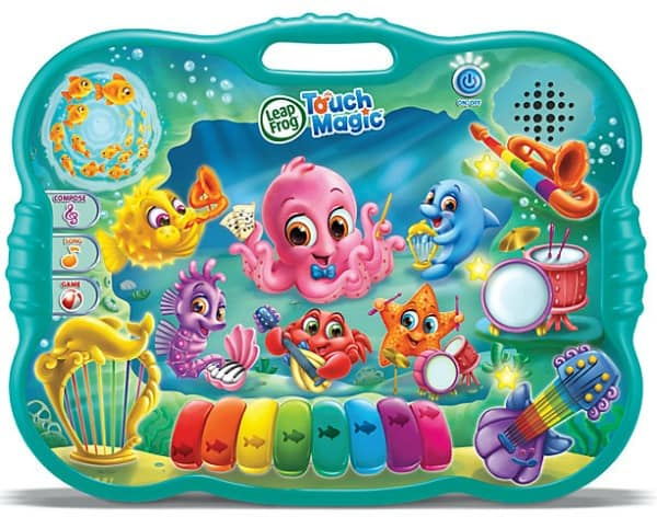 Touch Magic Ocean Music School from LeapFrog #31DaysOfGifts