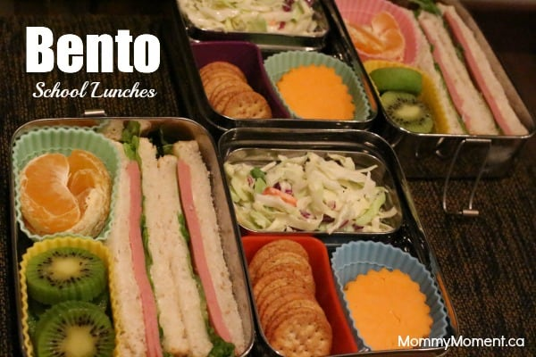 Bento School Lunches