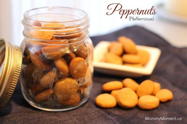 Peppernuts Recipe {Pfeffernüsse/Päpanät}