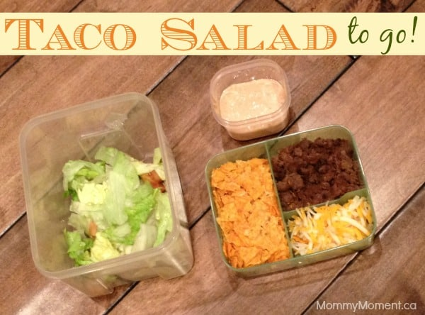 Taco Salad To Go