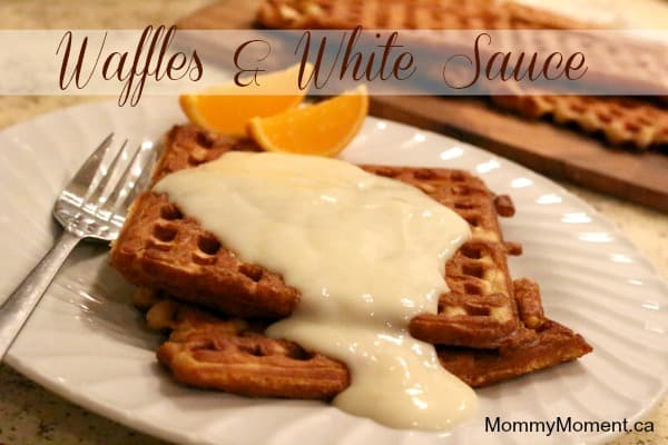 waffles-and-white-sauce-recipe