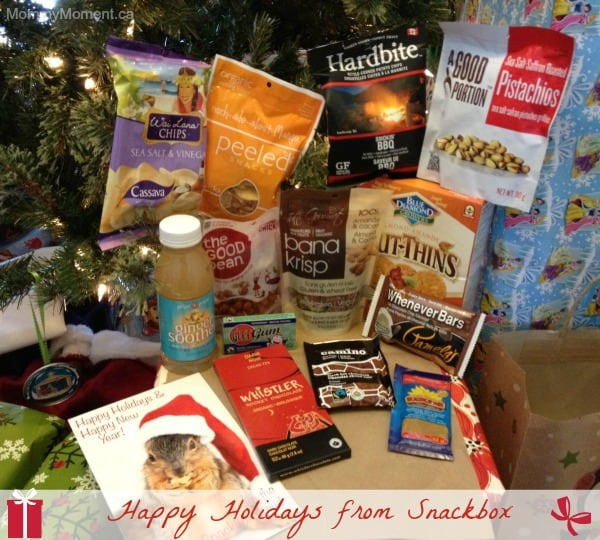 Happy Holidays from the Snackbox Crew!