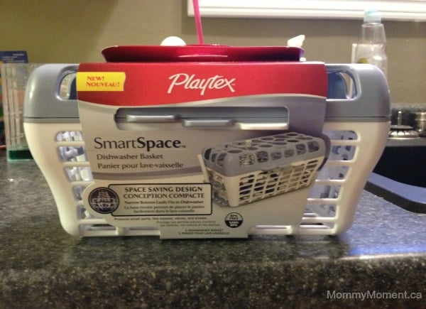 Dishwasher Solution with the Playtex SmartSpace Dishwasher Basket #MomTrust
