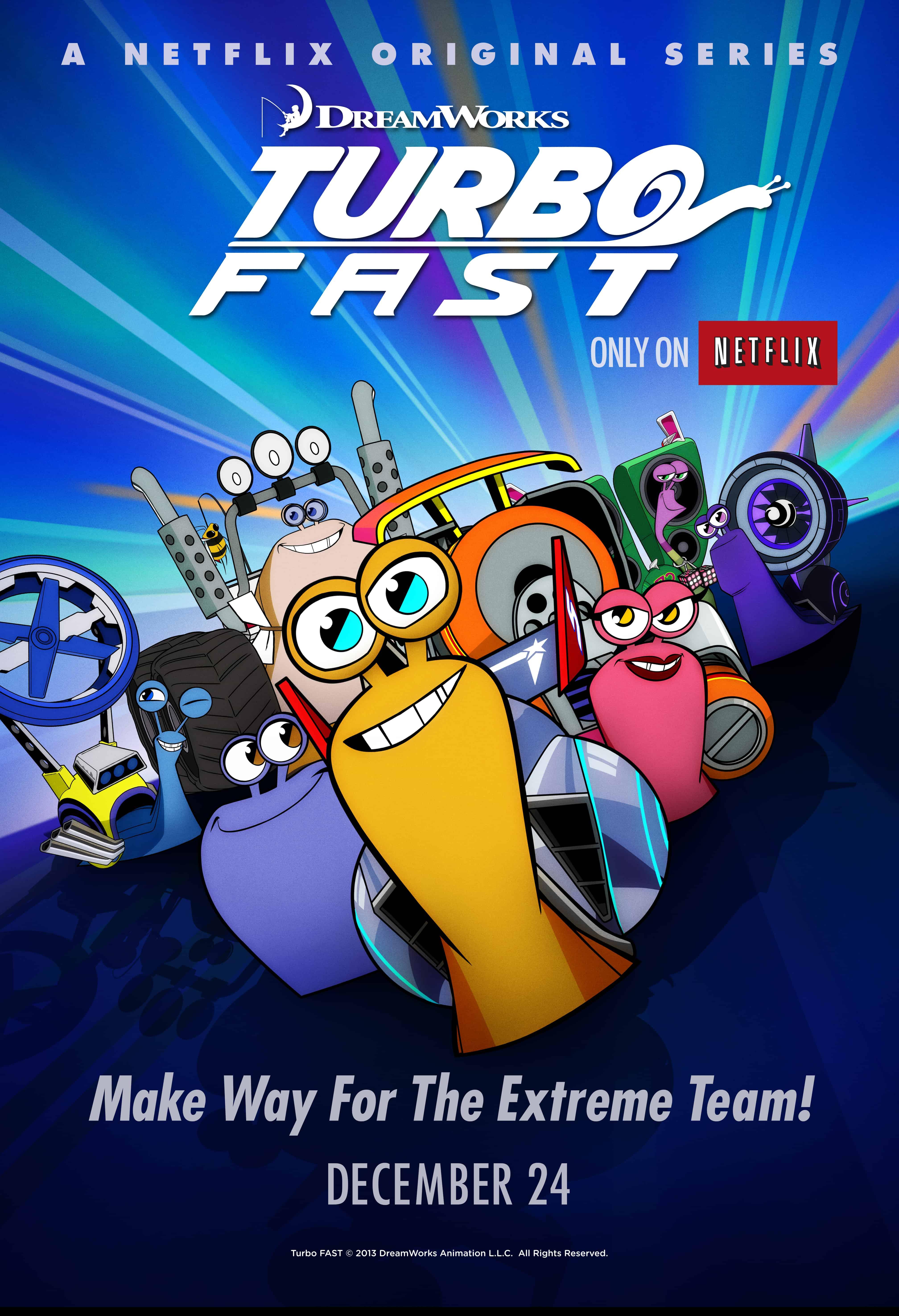Watch #TurboFAST with your crew! {Netflix / Wii U}