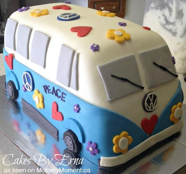 Volkswagen Hippie Cake